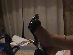 Italian Amateur Foot Fetish High Heels