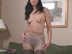 Lingerie MILF Nylon Stockings