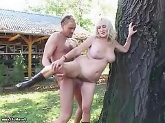 Big Boobs German Granny Hairy