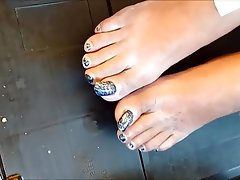 Amateur Foot Fetish Footjob