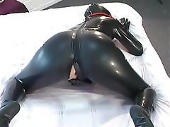 Amateur Latex Masturbation Orgasm