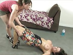 Femdom Foot Fetish Lesbian