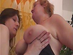 Big Boobs Granny Lesbian Mature