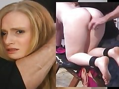 Anal Bondage Dildo Hardcore