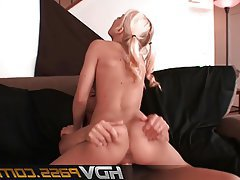 Blonde Blowjob Facial Hardcore Teen