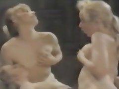 Lesbian MILF Nipples Threesome