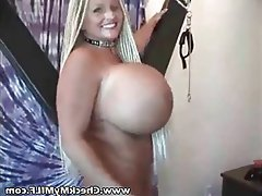 BDSM Big Boobs Lingerie MILF