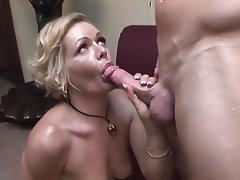 Blonde Blowjob Mature Mature
