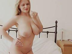 Big Boobs Big Butts Blonde Lingerie