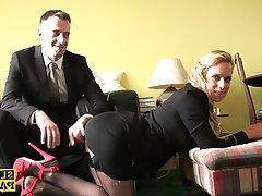 British Lingerie Spanking Stockings
