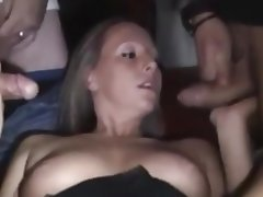 Bukkake Cum in mouth Cumshot Facial