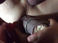 BDSM Femdom Dildo Fisting