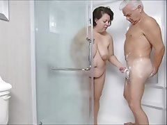 BBW MILF Shower