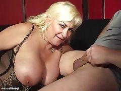 Big Boobs Blowjob Granny Mature