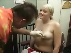 Amateur Blonde Piercing Small Tits