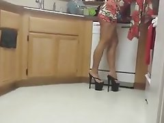 Amateur Foot Fetish Granny High Heels