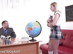 Blowjob Hardcore Russian Teacher