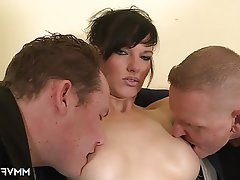 Anal Big Boobs Double Penetration German Old and Young