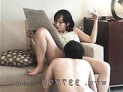 BDSM Cunnilingus Japanese Mistress
