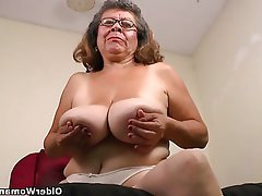 Mature Granny MILF Nylon