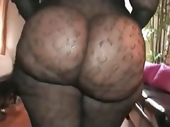 BBW Mature Stockings Big Butts