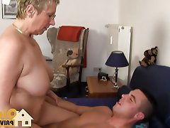 Big Boobs Blonde Cumshot German