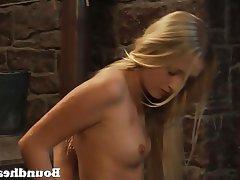Lesbian Mistress Spanking Threesome