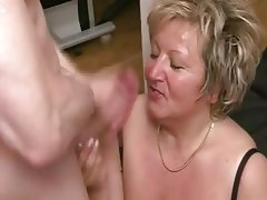 Amateur Anal French Granny