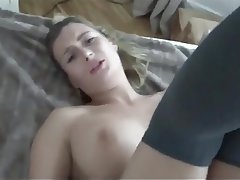Amateur Anal Blonde Cum in mouth