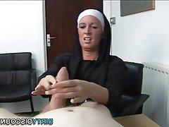 BDSM British Femdom Handjob POV