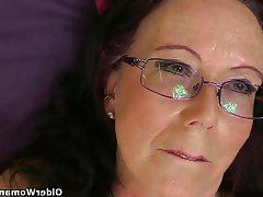 British Mature Granny MILF