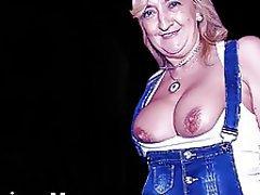 Mature MILF Granny Big Nipples