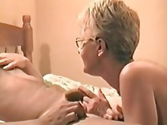 Blonde Hardcore Mature Granny