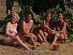 Vintage Outdoor Nudist