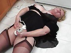 Masturbation Stockings Mature