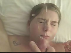 Amateur Ass Licking Cumshot Facial