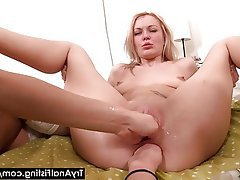 Anal Blonde Fisting Russian