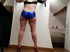 Blonde Granny Big Butts