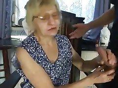 Blowjob Cunnilingus Granny