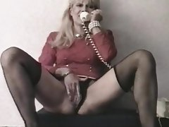 French Anal Dildo Mature Vintage