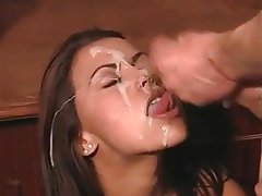 Babe Big Boobs Cum in mouth Cumshot