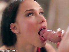 Blowjob Brunette Cum in mouth