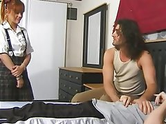 Anal Babysitter Double Penetration Facial