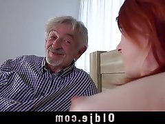 Cunnilingus Old and Young Redhead Teen