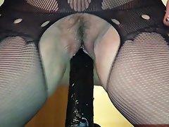 German Amateur Dildo Big Boobs Wife