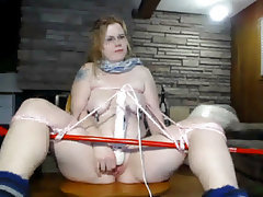 BBW BDSM Machine Fucking