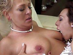 Lesbian Granny Mature MILF