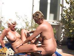 Big Boobs Blonde German Amateur