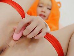 Close Up Masturbation Japanese Cosplay