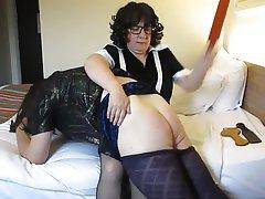 Amateur BDSM Spanking